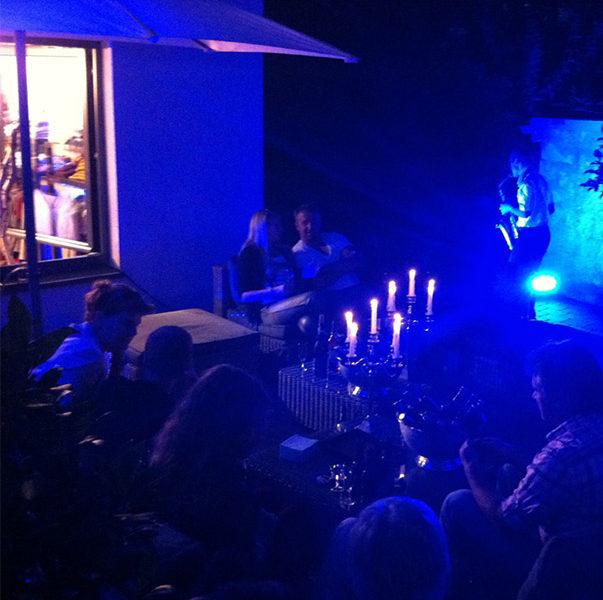 <em>blue night</em> august 2012